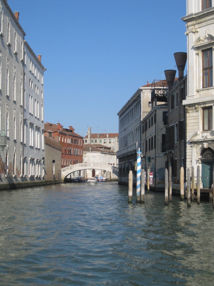 View from the The Grand Canal