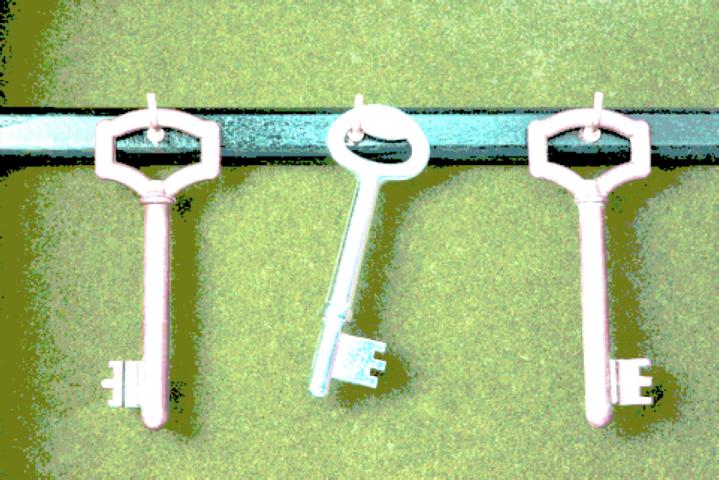 Three Gold Keys