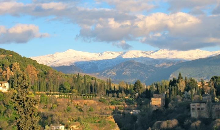 Clouds over Granada
