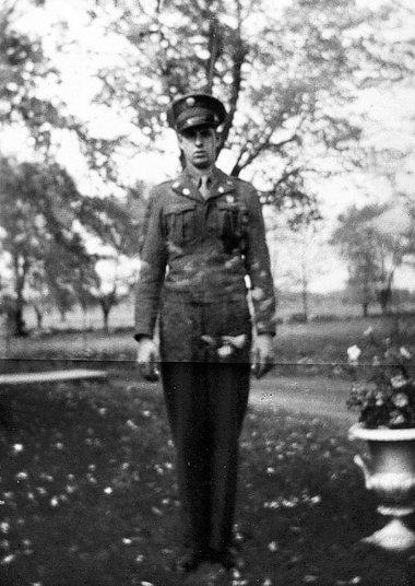 A photo of Corporal Elmer Kidd in uniform. Accessed on Syracuse.com Feb 2013.