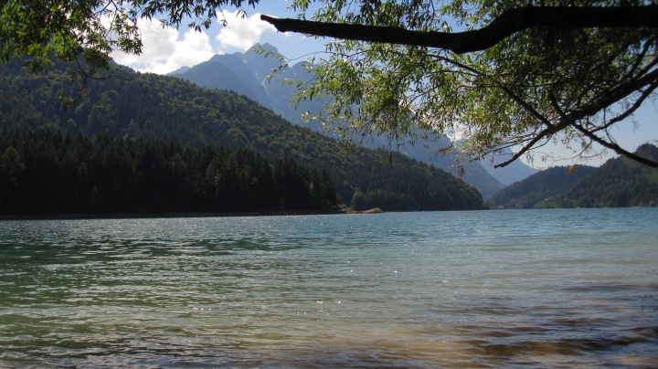 Lake Calalzo Di Cadore, Veneto, Italy