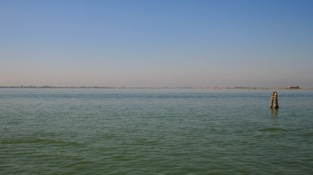 The City of Venice on the horizon from Burano