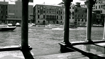 View of the Grand Canal from the Ca D'Oro Palace, Venice