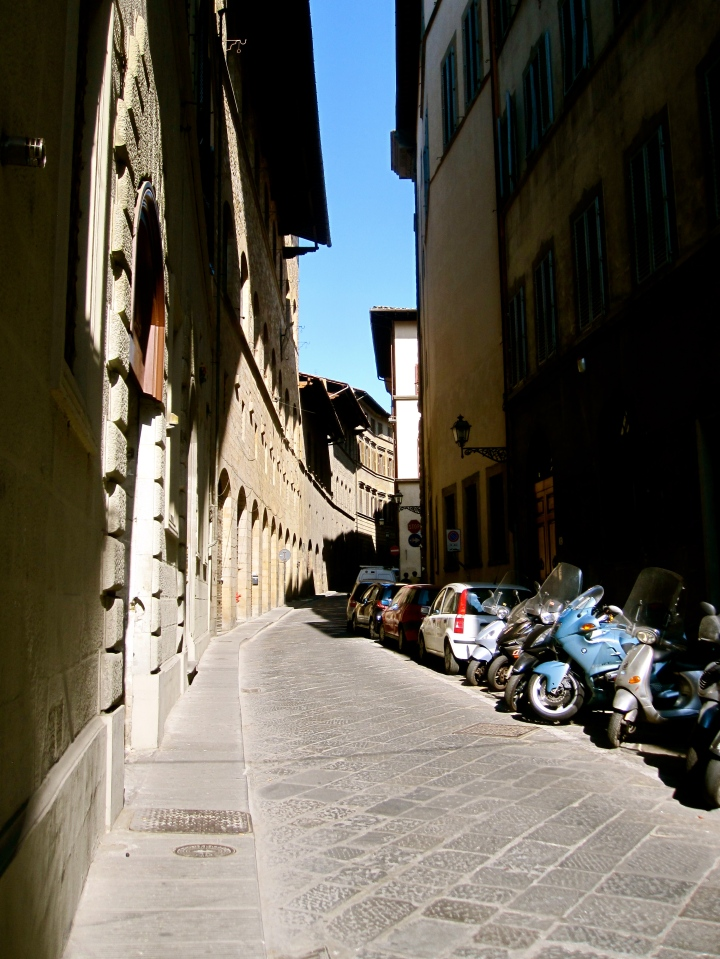Street in Florence Colour version