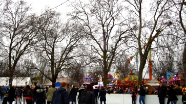 Hyde Park, Christmas Market, London