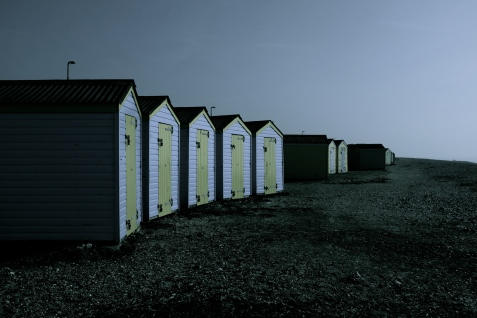 Diffused Beach Huts