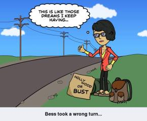 Bess takes a wrong turn